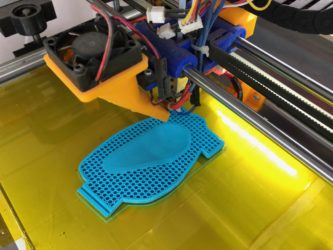 3D Printing a holder base for the small ergonomic handset